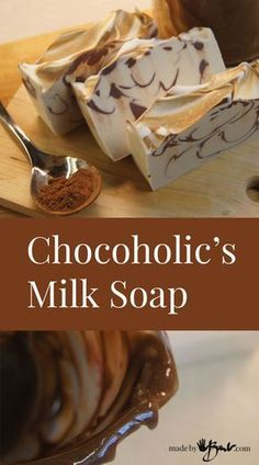 "<p>There's just something about the look of swirled chocolate! Even when you can't eat it! Since this handmade soap recipe has a good punch of luscious oils AND whole milk, it is super creamy. So much for the ""one quarter…</p>"