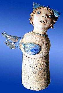 Nádoby - malá vtáčia víla - 4954729_ Sculptures, Statue, Artwork, Work Of Art, Auguste Rodin Artwork, Artworks, Illustrators, Sculpture