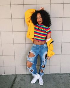 Notorious types of fashion styles, dope outfits, school outfits, casual outfits, yellow Outfits Hipster, Outfits Casual, Style Outfits, Dope Outfits, Hipster Fashion, Grunge Outfits, Urban Fashion, Girl Outfits, Fashion Outfits