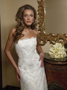 dcc39caa6b5 Casablanca Bridal WD-1249 Wedding Dress