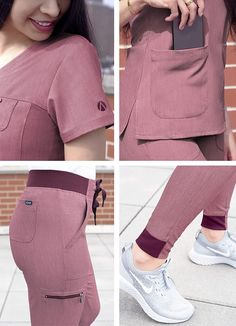 Scrubs Outfit, Scrubs Uniform, Stylish Scrubs, White Lab Coat, Cute Scrubs, Womens Scrubs, Womens Fashion Stores, Medical Scrubs, Nursing Clothes