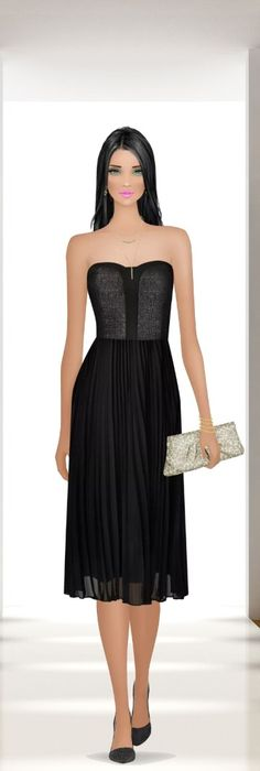 Covet Fashion, Fashion Models, Strapless Dress Formal, Formal Dresses, Cool Sketches, Closets, Style Icons, Puzzles, Barbie