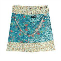 Moshiki #skirt - Choco Eclair. » visit Pocaido Rock Shop for reversible side of these #skirts. #Moshiki #HotCookie #Wrapskirt #Wickelrock #Roecke #clothing #fashion #moda #Mode #Style #Shop #Summer