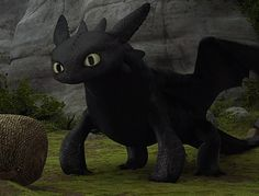 httyd | Toothless ☆ - toothless-the-dragon Fan Art