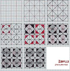 Zanella-Tangle Pattern | Flickr - Photo Sharing!