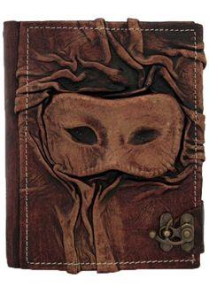 3D Eye Mask Sculpture on a Brown Handmade Leather Bound Journal MO138 ALittlePresent.com,http://www.amazon.com/dp/B007FQONEG/ref=cm_sw_r_pi_dp_ktDntb1T0G7PZ47W