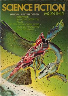 Publication: Science Fiction Monthly, April 1976 Editors: Julie Davis Year: 1976-04-00 Publisher: New English Library Cover: Tim White