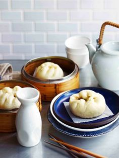 Char siu bao - bbq pork bun  don't know if i will ever make it but i do love them!!:)