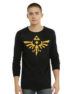The Legend Of Zelda Triforce Intarsia SweaterThe Legend Of Zelda Triforce Intarsia Sweater, BLACK