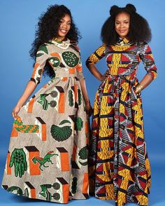 Shop vintage-style maxi's from Rahyma's SS2016 Collection on zuvaa.com �