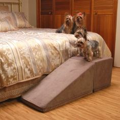solvit wood bedside dog ramp | dog ramp, dog and dog stairs