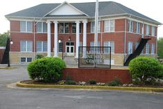 Hartselle Fine Arts Center -- formerly F.E. Burleson elementary school - It was the elementary school when I lived here in the late 70's