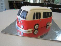 Volkswagen Bus grooms cake