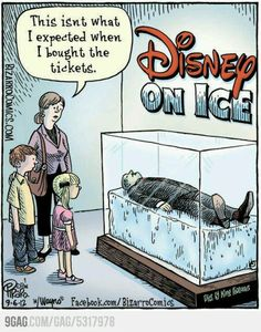 Disney on ice....not