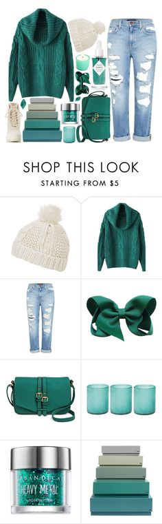 """BRRR"" by strayalley ❤ liked on Polyvore featuring Topshop, Genetic Denim, Merona, Jamie Young, Urban Decay, HAY, Herbivore and adidas Originals"