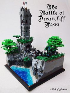 The Battle of Drearcliff Pass by Mark of Falworth, via Flickr