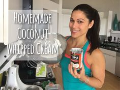 Homemade Coconut Whipped Cream (Dairy Free)