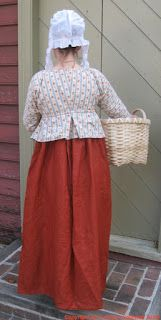 Two Nerdy History Girls: Working Clothes for 1800