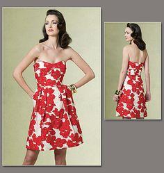 V1174 Vogue Dress Pattern