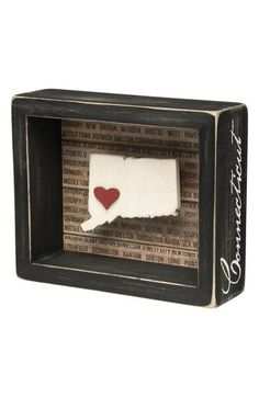 Primitives by Kathy State Silhouette Wooden Box Sign available at #Nordstrom