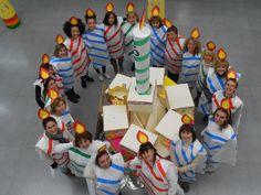Disfressa de carnaval de l'escola Santa Anna de Premià de Dalt, coincidint amb el 25è aniversari de l'escola.