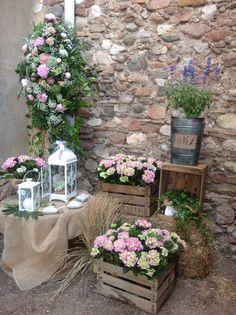 Espació bodas by Flors Montcada.