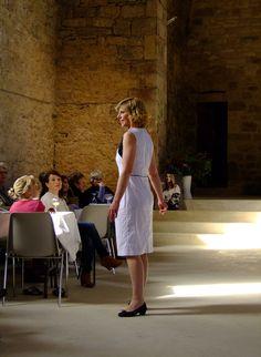 Robe Chiara coton à pois