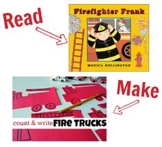 Another amazing list from No Time for Flashcards: 25 books and a craft to go with each one!