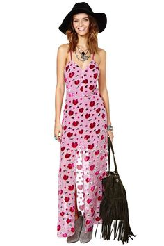 For Love & Lemons Rosita Maxi Dress