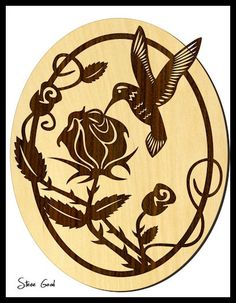 free scroll saw patterns | Scrollsaw Workshop: Hummingbird Scroll Saw Pattern.