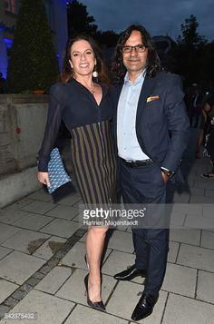 MUNICH, GERMANY - JUNE 27: Christine Neubauer and Jose Campos... #