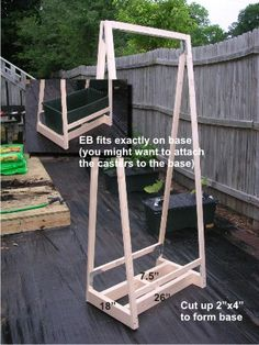Earthbox Trellis | ... Bottom Of The Trellis Instead Of The EB. (