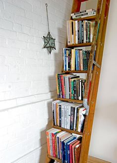 A Functional Eclectic Loft. Book OrganizationBook ...