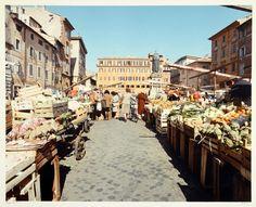 Campo de' Fiori in Rome in 1990