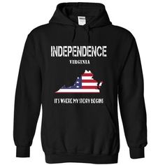 INDEPENDENCE-- Its Where My Story Begins! - #man gift #gift table. CHEAP PRICE => https://www.sunfrog.com/No-Category/INDEPENDENCE--Its-Where-My-Story-Begins-8232-Black-20164782-Hoodie.html?68278