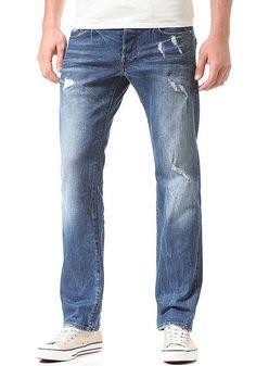 Attacke! Zeig es der Konkurrenz und schlüpf in die Attacc Straight Pant um zu brillieren.Strapazierfähiges Material sorgt für Langlebigkeit, der Used Look und eine dritte Gesäßtasche mit Zip runden das Bild der lässigen und zeitlosen Pant von G-STAR ab. Features: Regular Fit, Denim Pant, Button-Fly Pant, 5-Pocket Style, Hosenbund mit Gürtelschlaufen, Seitentaschen, Münztasche, Gesäßtaschen, Ges...