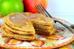 Düşük kalorili elmalı tarçınlı krep