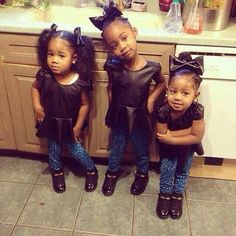 Too freaking cute! They are sisters from ghana