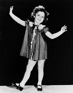 Shirley Temple tap dancing