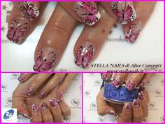 Butterfly Nails by Stella Nails di Alice Conventi