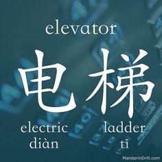 #elevator #mandarin #chinese