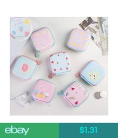 iPod, Audio Player Accessories Memory Card Box Jewelry Container Earphone Headphone Storage Case Coin Purse #ebay #Electronics