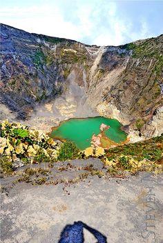 Volcán Irazu - COSTA RICA. vma.