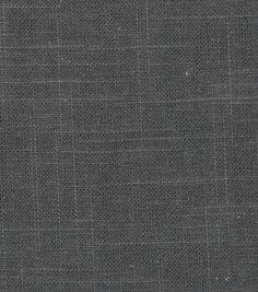 Upholstery Fabric- Robert Allen Linen Slub- Charcoal: home decor fabric: fabric: Shop   Joann.com