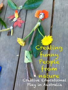 Create a Mythical Creature. Kids Nature Craft