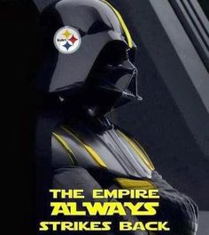 Steelers and StarWars. Steelers Pics, Here We Go Steelers, Pittsburgh Steelers Football, Pittsburgh Sports, Best Football Team, Pittsburgh Penguins, Steelers Stuff, Pitt Steelers, Football Baby