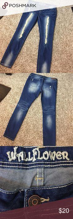Wallflower Skinny Leg Jeans Wallflower Skinny Leg Jeans - Stretchy Denim - Never been worn. Size: 13 Wallflower Jeans Skinny