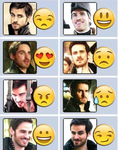 The many emojis of Captain Hook