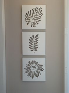 These were raised (mounted on frames)plastic cut-outs that allowed the wall colo… These were raised (mounted on frames)plastic cut-outs that allowed the wall color to show. Cute decorative and very simple idea. Diy Wall Art, Diy Art, Home Decor Accessories, Decorative Accessories, Paper Cutting, Cut Paper, Cut Out Canvas, Cuadros Diy, Cut Out Art