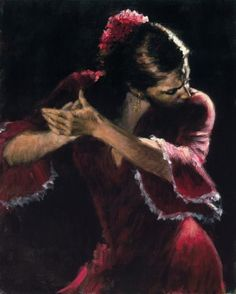 painting of flamenco dancer - Google Search